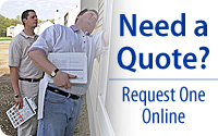 Easily request a quote online today!